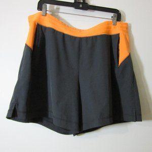 TEK GEAR Women's size XL Black Shorts DryTek